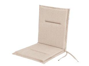 Spilvens krēslam Hobbygarden Miami, smilškrāsas cena un informācija | Krēslu paliktņi | 220.lv