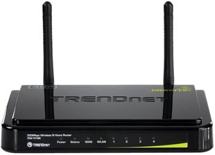 Rūteris TRENDNET Wireless N ROUTER TEW-731BR 300Mbps