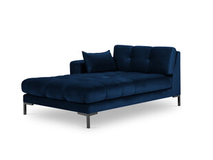Kušete Micadoni Home Mamaia 1S-V, zila/melna cena un informācija | Dīvāni | 220.lv