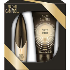 Komplekts Naomi Campbell Queen of Gold: edt 15 ml + dušas želeja 50 ml
