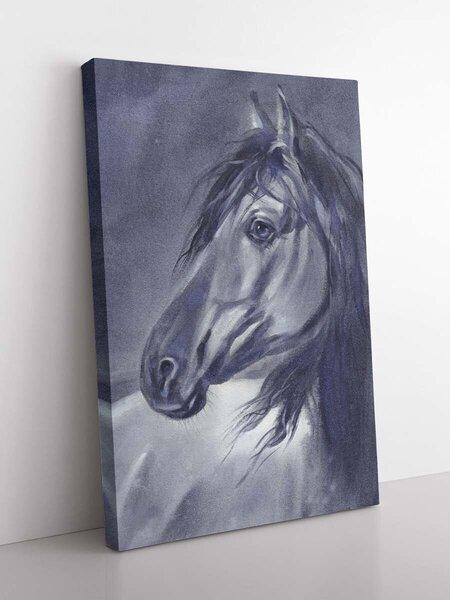 Foto glezna Zirgs, 80x120cm internetā