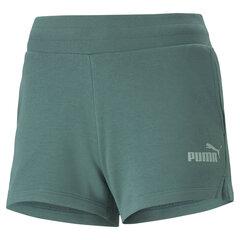 Šorti sievietēm - Puma Ess 4'' Sweat Green cena un informācija | Sieviešu šorti | 220.lv