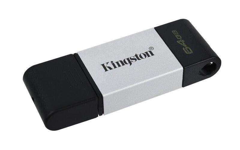 Kingston Data Traveler 80, 64GB, USB-C internetā