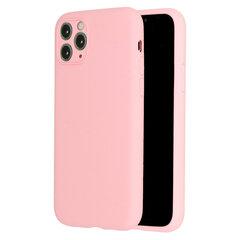 Vennus silikona vāciņš iPhone 11, gaiši-rozā cena un informācija | Vennus silikona vāciņš iPhone 11, gaiši-rozā | 220.lv