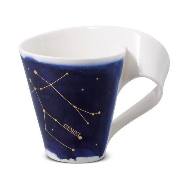 Villeroy & Boch krūze Dvīņi NewWave Stars 0,3L cena un informācija | Glāzes, krūzes, karafes | 220.lv