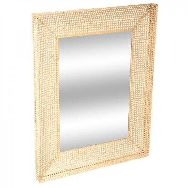 Sienas spogulis zeltains