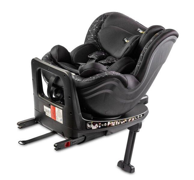 Caretero autokrēsliņš Twisty ISOFIX, 0–18 kg, melns cena un informācija | Autokrēsliņi | 220.lv