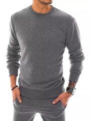Vīriešu džemperis Dobar BX5004-44876, tumši pelēks cena un informācija | Vīriešu džemperis Dobar BX5004-44876, tumši pelēks | 220.lv