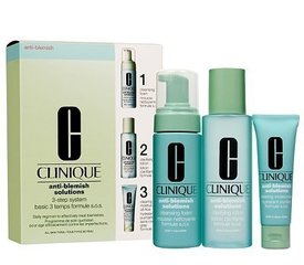 Komplekts Clinique Anti-Blemish Solutions 3-Step System