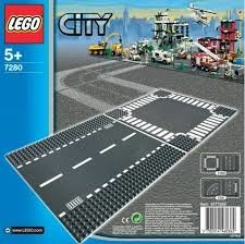 7280 LEGO® Brick More Straight & Crossroad V70 дорога