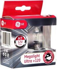 "GE spuldzes H7 ""Megalight Ultra +120"" 12V 55W"