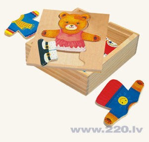 Puzle Dress Teddy Bert