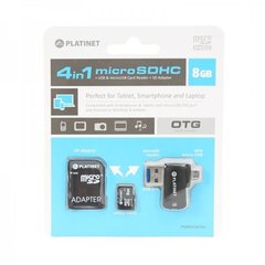 Platinet Micro SD 8GB 4in1