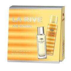 Комплект La Rive For Woman: edp 90 мл + дезодорант 150 мл