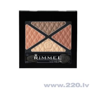 Acu ēnas Rimmel Glam'Eyes Quad Eyeshadow
