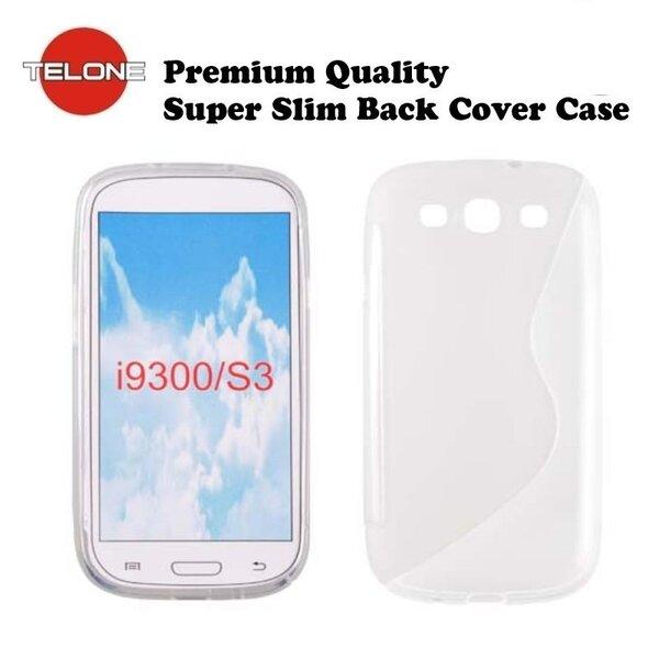 Telone Back Case S-CASE  резиновый чехол для мобильного телефона Samsung i9300 Galaxy S3, Прозрачный