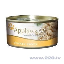 Konservi kaķiem Applaws Cat Chicken Breast, 156 g