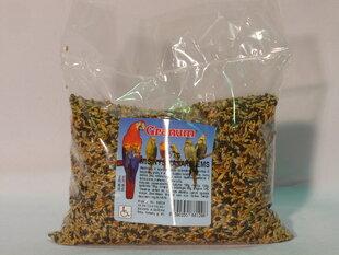 Granum barība kanārijputniņiem (maisiņā), 500g cena un informācija | Barība putniem | 220.lv