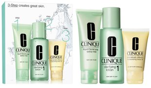 Komplekts Clinique 3 Step Skin Care System 1