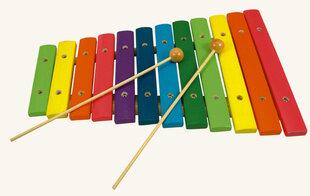 "Koka ksilofons Bino ""Varavīksne"""
