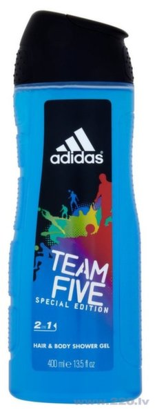 Dušas želeja Adidas Team Five 400 ml