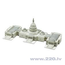 3D пазл CubicFun The Capitol Hill MC074h