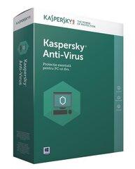 KASPERSKY Anti-Virus 2017 (2 ierīcēm)