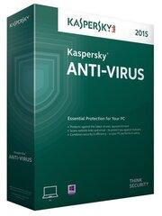 Kaspersky Anti-Virus 2015 (2 ierīcēm)