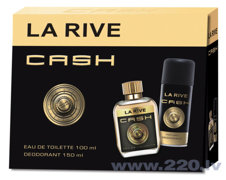 Komplekts La Rive Cash: edt 90 ml + dezodorants 150 ml