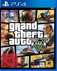 Spēle GRAND THEFT AUTO V (GTA 5) PS4