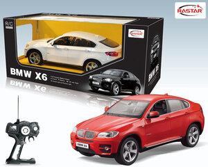 Radiovadāmā mašīna Rastar 1:14 BMW X6 31400