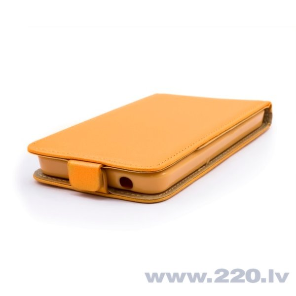 "Telone Shine Pocket Slim Flip vertikāli atverams maks telefonam Apple iPhone 6 (4.7""), Oranžs cena"