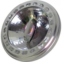 14W LED Ar111, 12V, Sharp LED, leņķis 40 °, silti balta