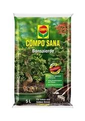 COMPO SANA Substrāts pundurkociņu audzēšanai, 5L cena un informācija | Grunts, zeme, kūdra, komposts | 220.lv