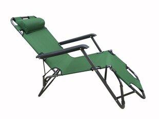 Guļamkrēsls NORE Elda, zaļš cena un informācija | Guļamkrēsls NORE Elda, zaļš | 220.lv
