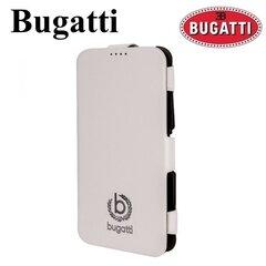 Bugatti Geneva BUGVFCG900WH Super Plāns vertikāli atverams maks Samsung G900 Galaxy S5 Balts (EU Blister)