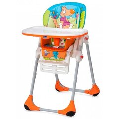 Barošanas krēsls Chicco New Polly 2 in 1, Wood friends cena un informācija | Barošanas krēsli | 220.lv