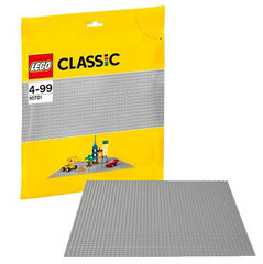 10701 LEGO® Classic Gray Baseplate 38x38 cm