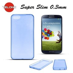 Telone Ultra Slim 0.3mm Back Case Samsung i9500 Galaxy S4 super plāns telefona apvalks Zils