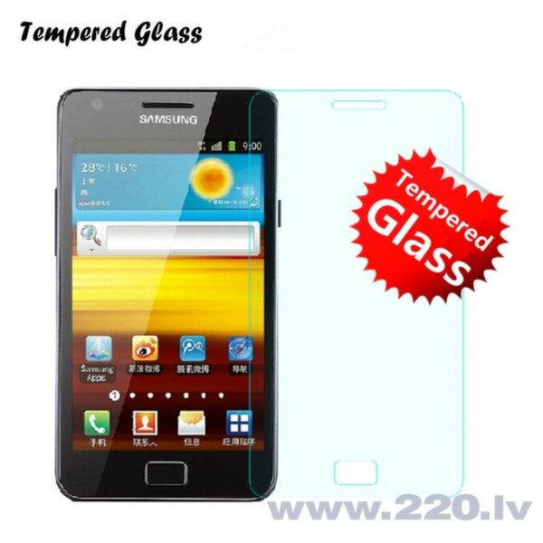 Tempered Glass Extreeme Shock Aizsargplēve-stikls Samsung i9100 Galaxy S2 (EU Blister)