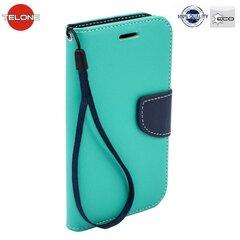 Telone Fancy Diary Book Case ar stendu Samsung G530 Galaxy Grand Prime sāniski atverams Gaiši zils/Zils cena un informācija | Maciņi, somiņas | 220.lv