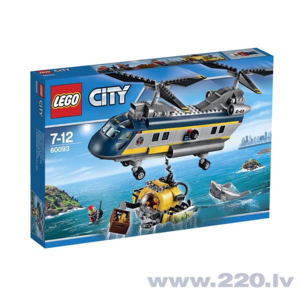 LEGO® 60093 City Deep Sea Helicopter