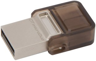 USB карта памяти KINGSTON 8GB DATATRAVELER MICRODUO OTG