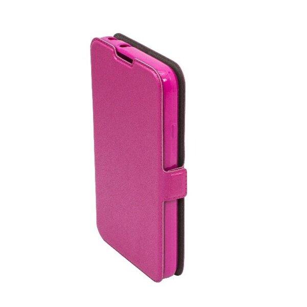 Telone Супер тонкий Чехол-книжка со стендом Samsung J100H Galaxy J1 Розовый  интернет-магазин