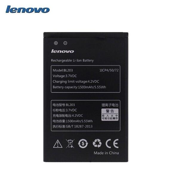 Lenovo BL203 Оригинальный аккумулятор A369 A66 A365e Li-Ion 1500mAh (M-S Blister)