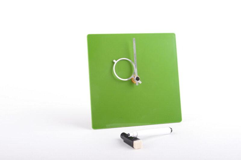 Galda pulkstenis LS, zaļš