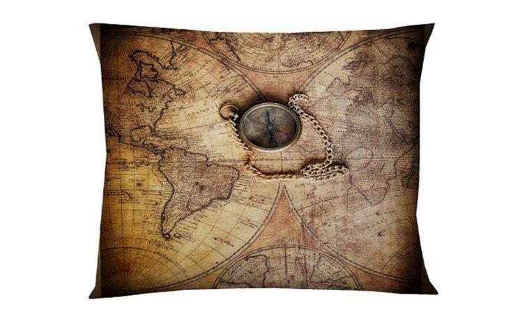 Dekoratīva spilvendrāna Compass 5x45 cm