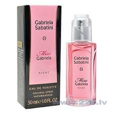 Туалетная воды Gabriela Sabatini Miss Gabriela Night edt 30 мл