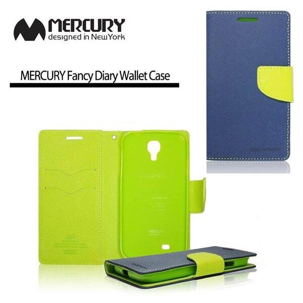 Mercury Fancy Diary Book Case LG Fino D290N sāniski atverams Zils/Salātkrāsas cena un informācija | Maciņi, somiņas | 220.lv