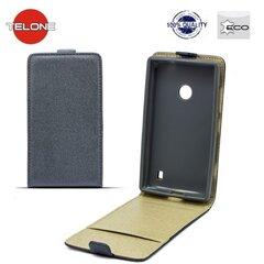 Vertikāli atverams telefona maciņš Telone Shine Pocket Slim Flip Case priekš LG G4c Mini H525N Pelēks